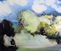 Jonathan Hunter, The Cloud Walker, oil on canvas, 50 x 60 cms, 2015