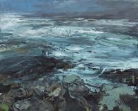 Donald Teskey, Spume, oil on canvas, 40 x 50 cm, 2013