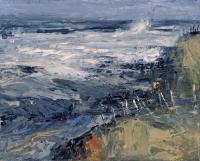 Donald Teskey, Tideland III, oil on canvas, 40 x 50 cm, 2013