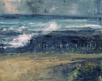 Donald Teskey, Tideland, oil on canvas, 40 x 50 cm, 2013
