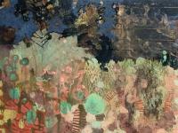 Frances Ryan, Eden I, oil on panel, 30 x 40 cm, 2016