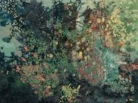 Frances Ryan, Eden II, oil on panel, 30 x 40 cm, 2016