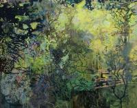 Frances Ryan, Hunter's Moon, oil on canvas, 80 x 100 cm, 2016
