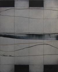 Charles Tyrrell, A3.14, oil on aluminium, 50 x 40 cm, 2014