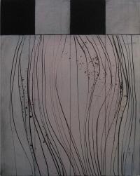 Charles Tyrrell, A14.14, oil on aluminium, 50 x 40 cm, 2014