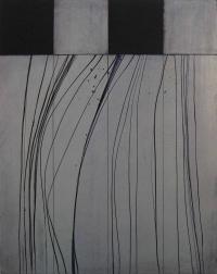 Charles Tyrrell, A7.14, oil on aluminium, 50 x 40 cm, 2014