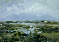 Avril Lyons, Achill No. 17, acrylic on panel, 23 x 32 cm, 2013, SOLD