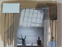Katherine Boucher Beug, Still Life, acrylic with photograph on canvas, 47 x 57 cm, 2012, € 2,000