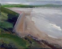 Mary Canty, Beach, oil on canvas, 20.5 x 26 cm, 2014