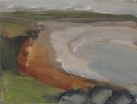 Mary Canty, Bunatrahir Bay, oil on canvas, 25 x 30 cm, 2012