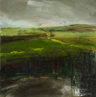 Mary Canty, Source 1, oil on canvas, 40 x 40 cm, 2008, SOLD