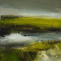 Mary Canty, The Moy, oil on canvas, 40 x 40 cm, 2008, SOLD