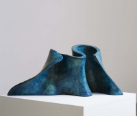 Eilis O'Connell, Morphwall, cast bronze edition of 5, 29 x 60 x 19 cm, 2010, €8,000
