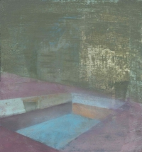 Tom Climent, At the Clearing, oil on board, 30 x 33 cm, 2013, €1,100
