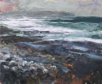 Longshore VIII, oil on canvas, 100 x 120 cm, 2014, POA