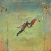 Oonagh Hurley, The Greatest of Ease, acrylic on canvas, 50 x 50 cm, 2015