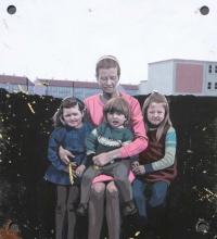 Catherine Barron, Something went wrong 2, acrylic ink on sheet metal diptych, 29 x 52 cm, 2013