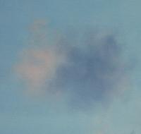 Tim Goulding, Single Cloud 2, 30.5 x 30.5 cm, acrylic on paper, € 1,550