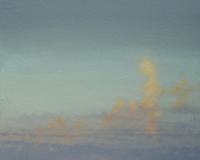 Tim Goulding, Evening Sky 5, 58 x 100 cm, acrylic on board, 2011, € 4,900