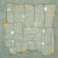 Tim Goulding, Field Trip 18, acrylic on canvas, 16 x 16 inches, 2007, SOLD