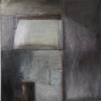 Carol Hodder <i>Box ii</i>, oil on canvas, 60 x 60 cm, 2011, € 1,750