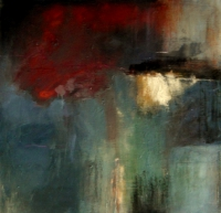 Carol Hodder <i>Into the West</i>, oil on canvas, 100 x 100, 2011, € 3,000