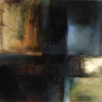 Carol Hodder, Crossing IV, oil on canvas, 100 x 100, 2008, €3,000
