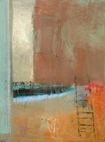 Carol Hodder, Untitled, oil on canvas, 60 x 25 cm, 2006, SOLD
