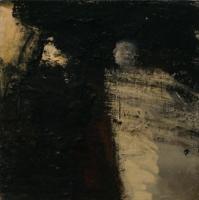 Carol Hodder, Angel, oil on canvas, 40 x 40, 2005