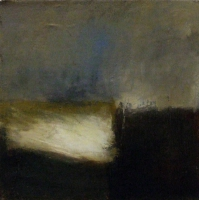 Carol Hodder, Sea Mirage, oil on canvas, 40 x 40 cm, 2009, SOLD