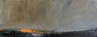 Carol Hodder, stormlands vi, oil on canvas, 30 x 75 cm, 2013, €1,500
