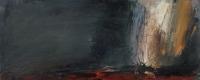 Carol Hodder, stormlands ix, oil on canvas, 30 x 75 cm, 2013