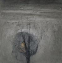 Carol Hodder, Winter Landscape, oil on canvas, 60 x 60 cm, 2014