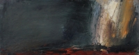 Carol Hodder, stormlands ix, oil on canvas, 30 x 75 cm, 2013, €1,500