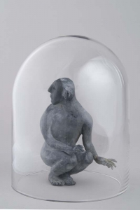 Janet Mullarney Parallel under glass dome