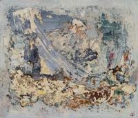 John Kingerlee, Crashing, oil on panel, 32 x 37 cm, 2008, € 7,500