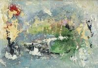 John Kingerlee, Green Hills of Beara, oil on board, 21 x 30 cm, 2010, SOLD