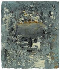Head in Blue, oil on panel, 31 x 26 cm, 2005-2007