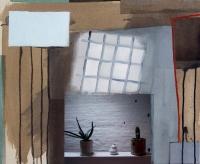 Katherine Boucher Beug, Attic Still Life, mixed media on canvas, 48 x 57 cm, 2012, €2,000
