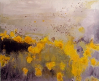 Gorse, oil on canvas, 2004, SOLD