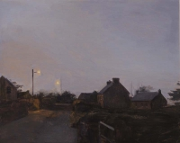 Maeve McCarthy, Approaching Night, oil on panel, 25 x 30 cm, 2014, SOLD