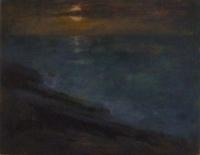 Maeve McCarthy, Stillness, tempera & oil on gesso panel, 20 x 25, 20 x 25 cm, € 800
