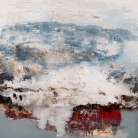 Siobhan McDonald, Invisible Atmosphere, 80 x 80 cm, oil on canvas, 2011, framed, € 4,800