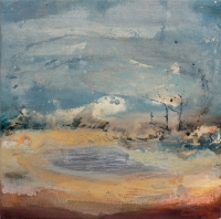 Siobhan McDonald, Boiling Roots, 41 x 41 cm, oil on canvas, 2011, unframed, SOLD