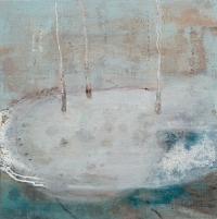 Siobhan McDonald, Dormant 2, 41 x 41 cm, oil on canvas, 2011, framed, € 1,900