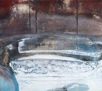 Siobhan McDonald, Vortex, mixed media on canvas, 33.5 x 38 cm, 2013