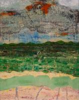 "Anne Neely, Going West, oil on board, 14"" x 11"", 2004-05, €900"