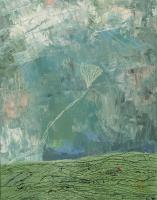 """Anne Neely, Cloudburst, oil on board, 14"""" x 11"""", 2004-05"""