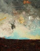 """Anne Neely, Peat Bog, oil on board, 14"""" x 11"""", 2004-05"""