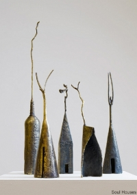 Eilis O'Connell, Soul Houses, bronze, unique, 2010, SOLD
